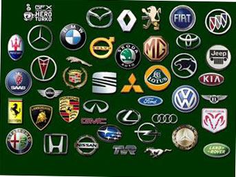 "Famous Car Brands PSD template PSD клипарт  ""Знаменитые автомобильные..."