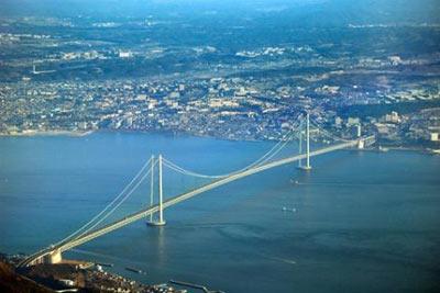 Akashi-Kaikyo Köprüsü (Japonya) 1,991 m - 1998