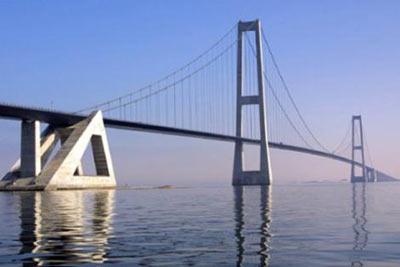 Great Belt Köprüsü (Danimarka) 1,624 m - 1998