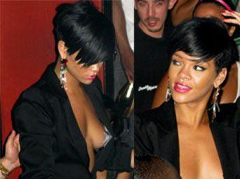 Rihanna'ya açık saçık giyinme uyarısı