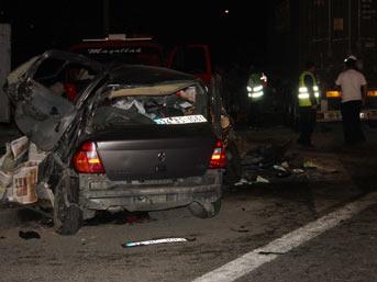 Ümraniye'de trafik kazası: 4 ölü