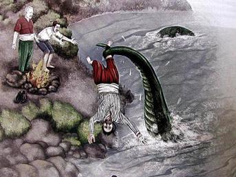'Van Gölü Canavarı' 121 yıl önce manşet olmuş