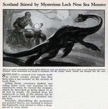Loch Ness Gölü Canavarı / İskoçya