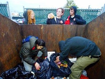 copten besleniyorlar - Çöpten besleniyorlar!
