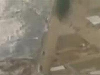Japonya'da Tsunami'den kaçan UFO