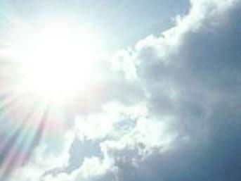 Hele şükür güneşli hava