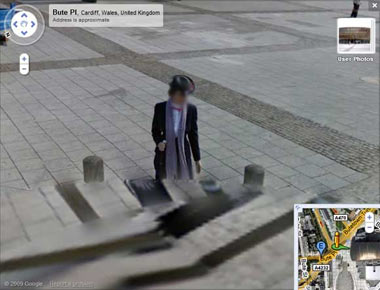 Google kameralarına takılan gizemler