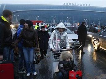 Domodedovo havaalanında patlama meydana geldi