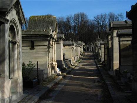 Pere-Lachaise Mezarlığı (Paris, Fransa)