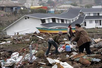 27 Şubat 2010 Şili- 8.8