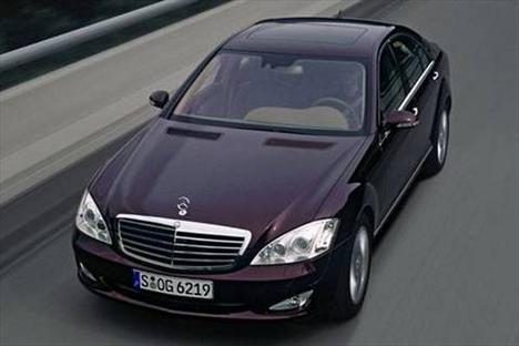 Jim Carrey - Mercedes S-Class