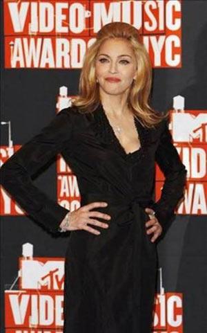 Madonna - Maybach 62 model