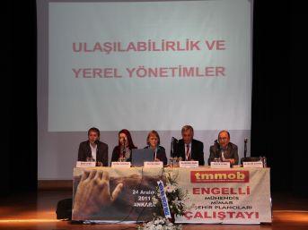 00589600 y0n6bi330c - TMMOB Engelli Mühendis Mimar Şehir Plancıları Çalıştayı 24 Aralık'ta Ankara'da Düzenl