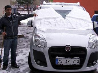 Ardahan'a Mayıs karı