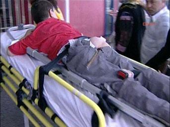 bahadir kormesil - Kalçasındaki demirle hastaneye getirildi