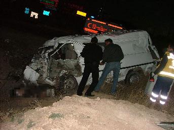 Konya'da feci kaza; 4 ölü, 3 yaralı
