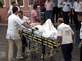 Pompalı tüfekle kız arkadaşını vurdu