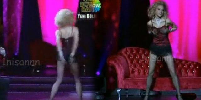Burcu Esmersoy Lady Marmalade Dansı İzle
