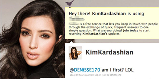 Kim  Kardashian bir Türk'le tartıştı