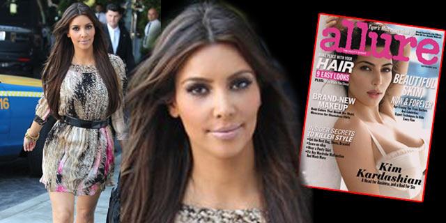Takıntılı güzel Kim Kardashian