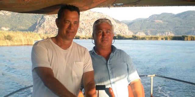 Tom Hanks Ege kıyılarında