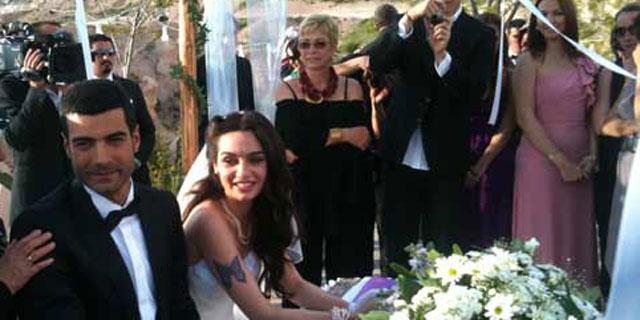 Dizi aşıkları evlendi
