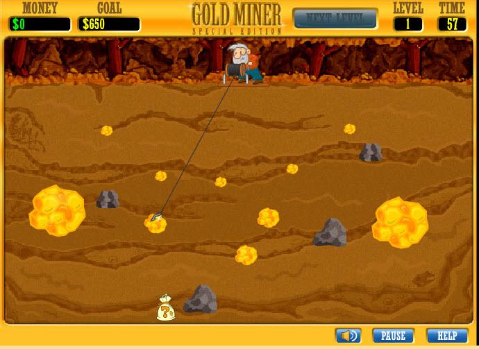 Altın Avcısı Oyunu Oyna