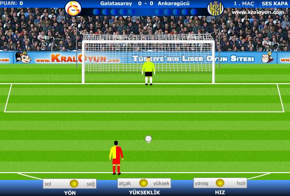 penaltı oyunları