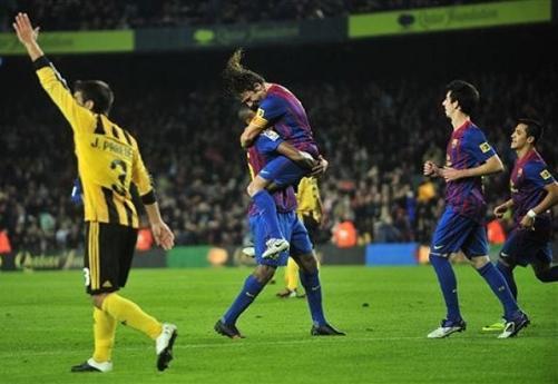 Nou Camp'ta Barça şov