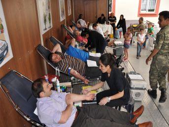 Kızılay, Posof'ta 160 ünite kan topladı