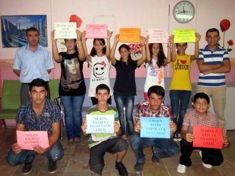Ufuk Okuma Salonu öğrencileri SBS'de Mersin'in gururu oldu